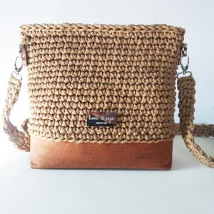 tan neutral crossbody shoulder bag handmade vegan